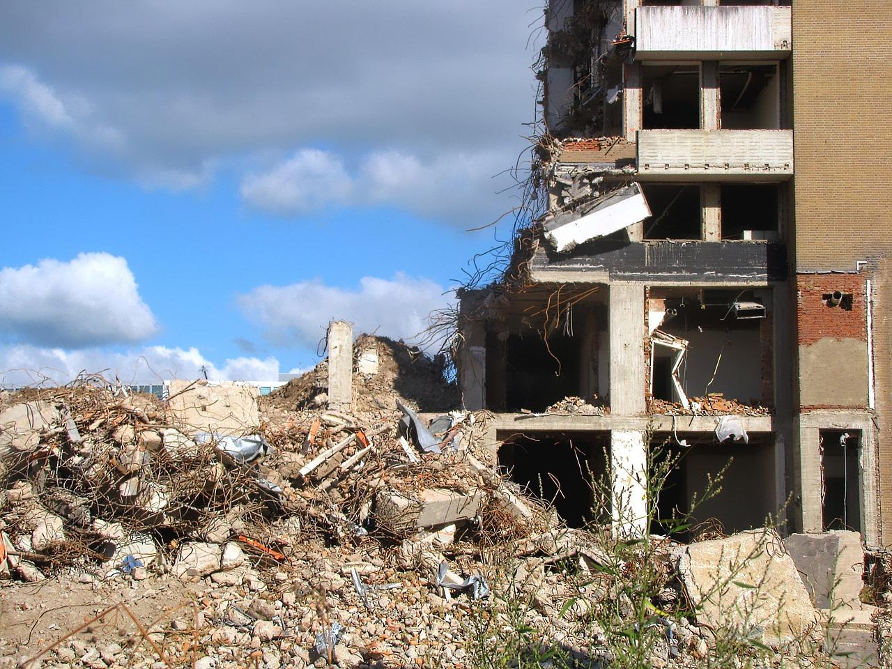 Les étapes pour évacuer les décombres après les travaux