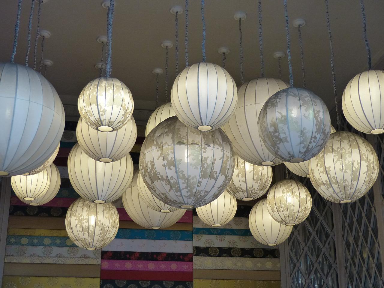 Choix des luminaires dans les différentes pièces